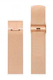 Picto Matt Rose Gold Mesh Band 20mm P1120
